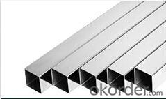 Stainless steel tube ; square tube
