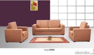 Office Sofa Office Furniture 2015 High Quality Leather Office Sofa 8206