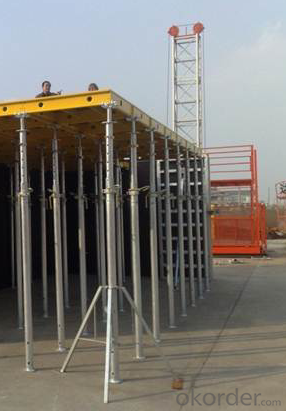 CONSTRUCTION FORMWORK SYSTEMS for Aluminum-Frame Formwork