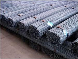 Hot Rolled Steel Deformed Steel Bar Debar / Rebar KS BS HRB400 HRB500