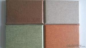 Fiberglass Acoustc Wall Panels with Different Fabrics