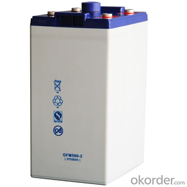Storage Battery Widely Used in Solar Energy 2V,JGFM500-2