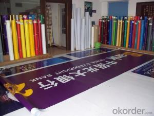 Laminated PVC Flex Banner Frontlit Lona Vinil Para Impresion