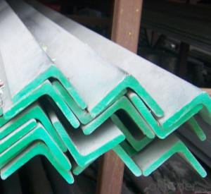 Stainless angle steel; high quality angle steel