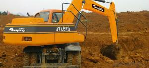 Jonyang Brand Wheeled Excavator JYL619E for Earth Moving