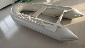 Aluminum Rigid 0.9mm PVC Inflatable Boat 320