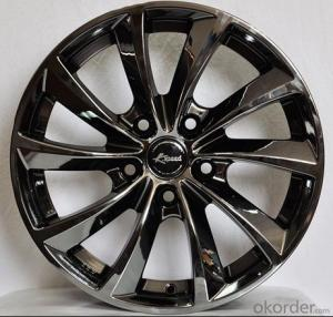 Aluminum Wheel Rim with Low Price  for all car with 10 Spoke