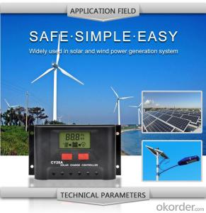 Solar LCD Controller CY20A with the best price