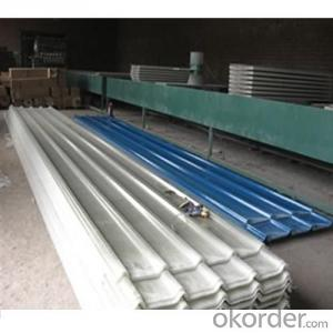 Anti-corrosion Fiber Glass Roofing Corrugated Panel Sheet