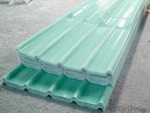 Anti-corrosion Fiber Glass Roofing Corrugated Panel Sheet