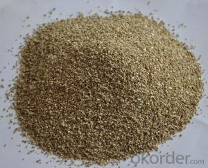 silver expanded vermiculite of high quanlity for construction