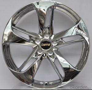 Aluminum wheel rim for all car with 5 Hole quality