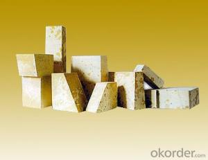 Silica brick for glass kiln