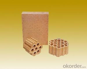 Silica brick for hot blast stove