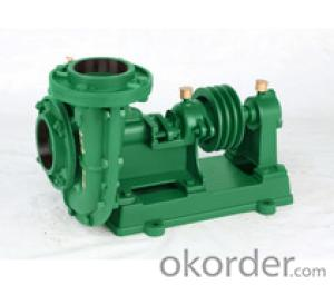 Horizontal Pulley Pump for Water Solution