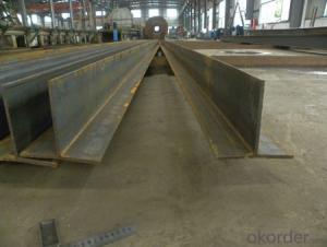 Hot rolled T shape steel