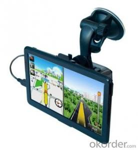 Car gps navigation 7 inch Screen Size with bluetooth and wifi