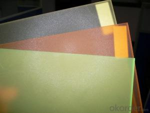 CMAX- EMBOSSED CAST ARYLIC SHEET FOR TWO SIDES