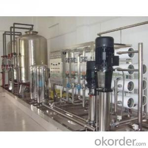 Water Treatment Equipment for Beverage Plant