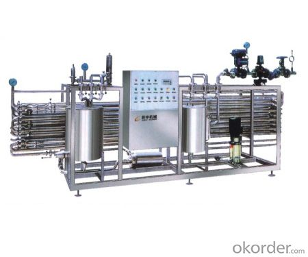 PIPE U.H.T Sterilizing complete equipment