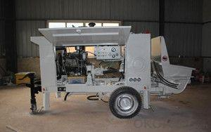 Multifunctional concrete trailer pump on sale