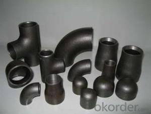 STEEL PIPE BUTT WELDED 90D ELBOW LR A235 WPB ANSI B16.9 good price