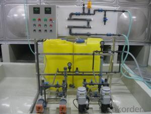 2000L/H reverse osmosis water treatment equipment