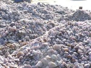 CaF2 75% / Fluorite Ore For Smelting Aluminium Industry