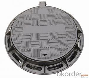 Manhole Cover EN124 D400 for Pedestrian Areas