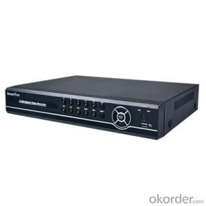 8CH Channel Surveillance Network Remote Access Security Recording Video DVR With 1TB (1000GB) HDD