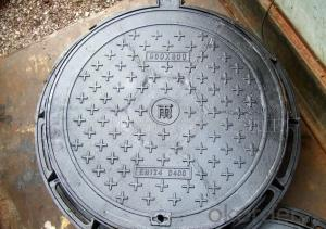 Manhole Cover BS&EN124 D400/C250 for Construction Use