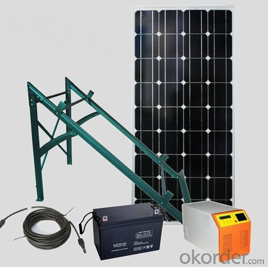High Efficiency off Grid Solar Systems with CE TUV RoHS Approved