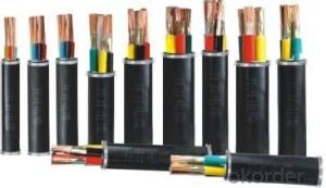 HV electric power cables different types of electrical cables