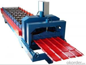 PREPAINTED GLAZED TILE MACHINE IN DIFFERENT TYPES