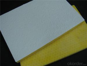 Fiberglass Ceiling Tile with PVC Facings
