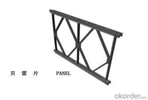 HD200 High quality portable bailey steel bridge components