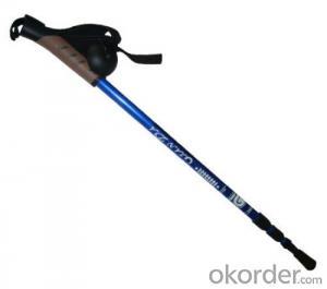Carbon steel sticks alpenstock ; Sticks ; mountaineering sticks