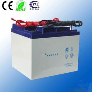 Sealed Maintanence Free Battery Valve Regulated Lead Acid Battery 12V 35AH