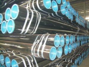 Seamless Black Steel Pipe API PSL1/PSL2/X52/X70