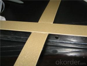 Suspension Ceiling T BarT Grid Golden/Mirror Galvanized