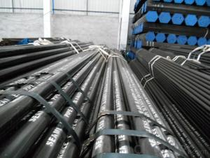 Seamless steel tube high quality hot rolled  black