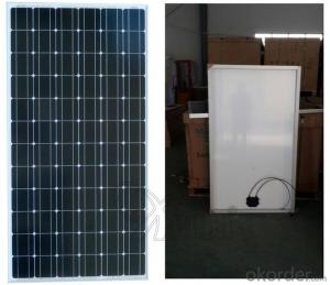 Monocrystalline Silicon thin film solar panel 250