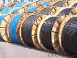 Power Cable in PVC Insulation  with Coaxial Cable