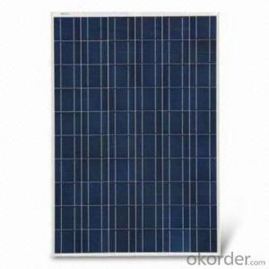 Polycrystalline solar panels for rooftop systems