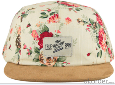 5 PANEL HATS FASHION CUSTOM MADE for PROMOTION