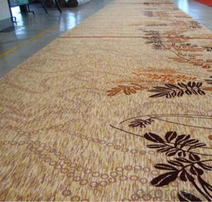 carpet with 100% wool for Home and Hotel