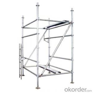 Ringlock Scaffolding Steel Popular Construction Q235