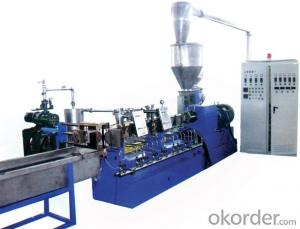 Plastic Granulator for Parallel Twin Screw Extruder Pelletizing Machine Line