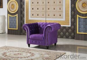 Fabric Chesterfield Sofa, Classical and Vintage Style
