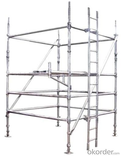 Galvanized Cuplock Scaffolding for Building Constrcution GCS-08